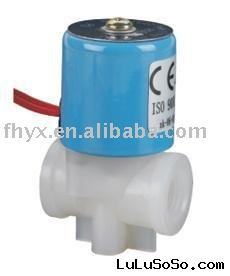 "1/4"" Plastic 12VDC Electric Shut-off Solenoid Valve Water-Air BBTF Type"