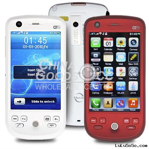 2011 cect China wifi touch screen mobile phone accept paypal