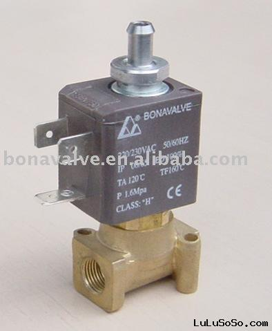 3/2 way Solenoid Valve / Hot water valve for Coffee Maker (ZCQ-21B-3T)