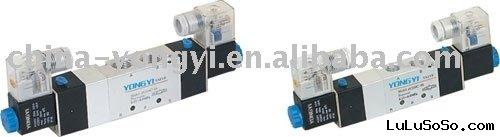 4V Series Three Position Five Way (5/3 way) Solenoid Valve