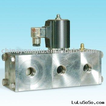 5/2 Way Solenoid valve for Water Supply Factory
