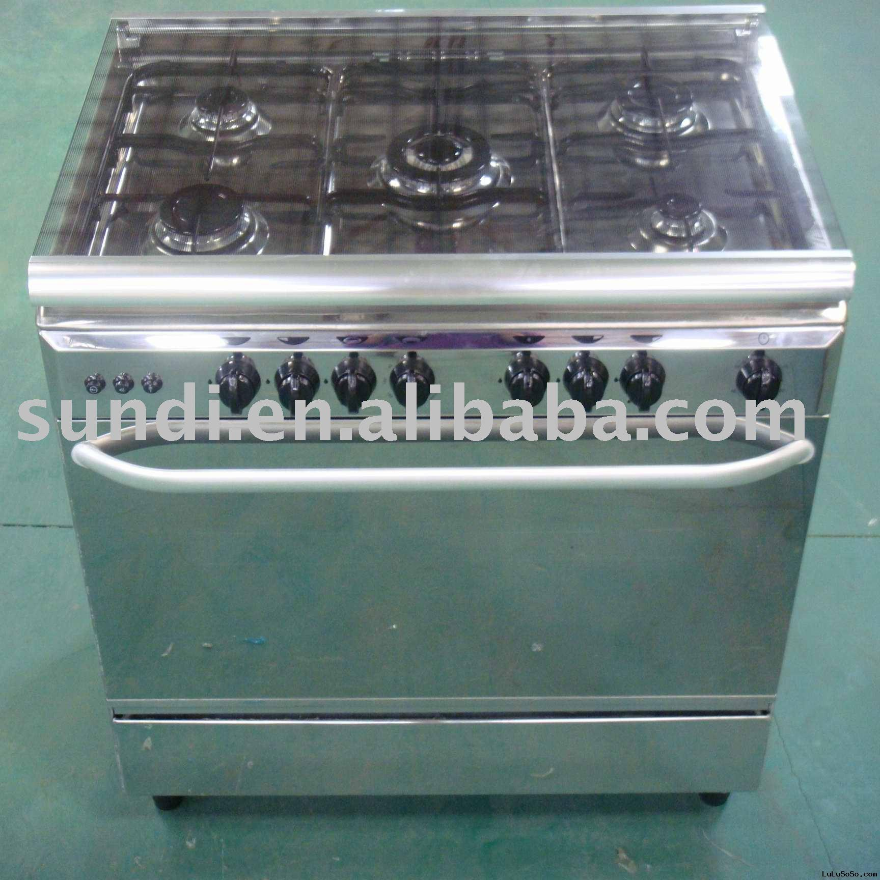 Gas Cooker with Oven ( 900x600 )