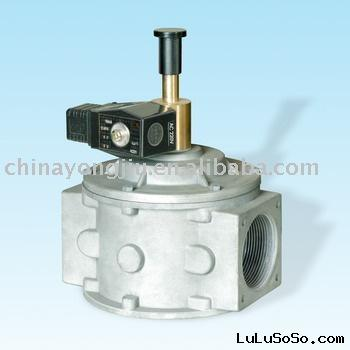 Gas Shut Off Solenoid Valve with Manual Reset (Industrial)