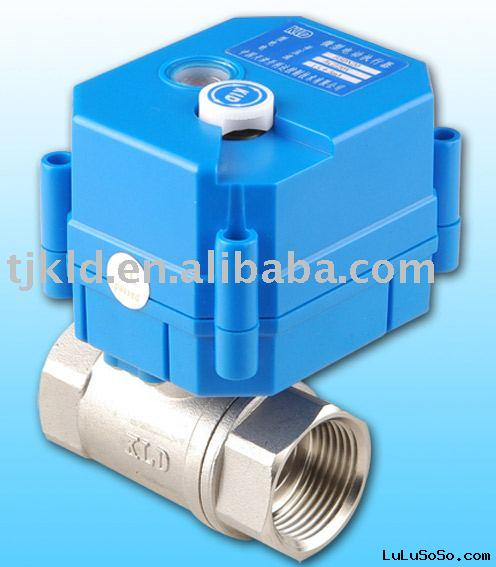 KLD 20S Mini control ball valve for automatic control, HVAC, water treatment