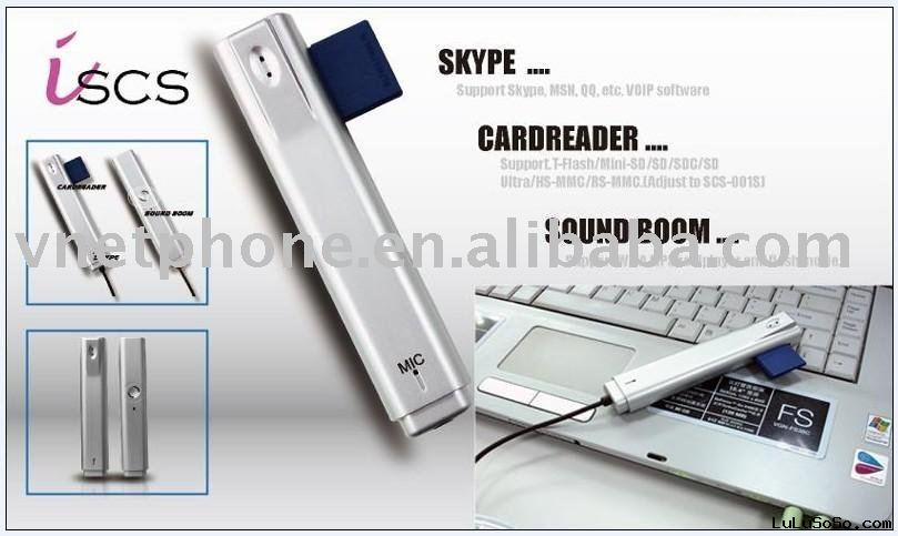 Mini skype phone