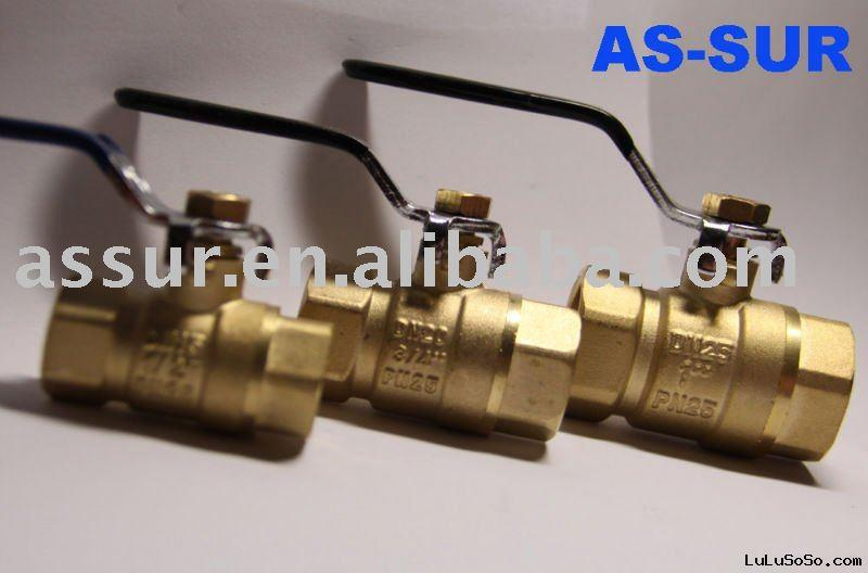 PN25 forged brass ball valve