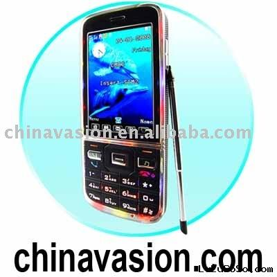 Quad Band Wireless Cell Phone - Slim Touchscreen Mobile