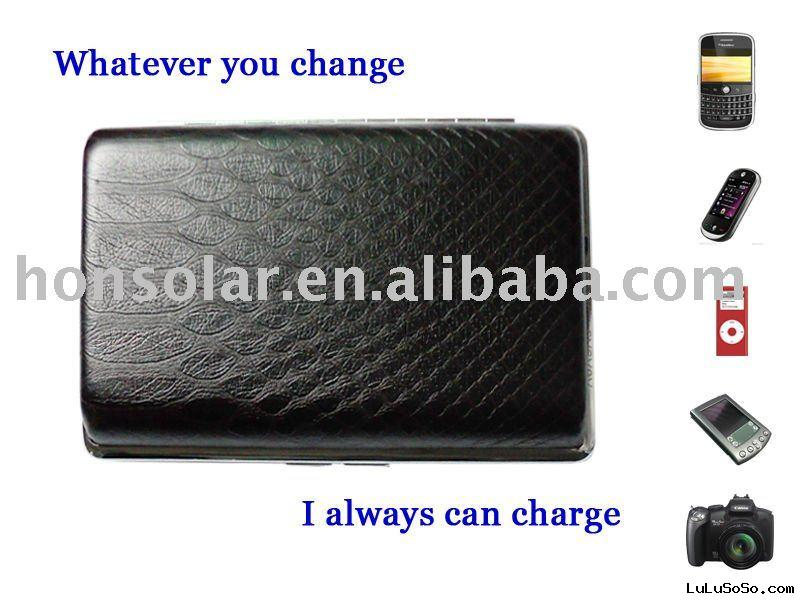 Solar cell phone chargers