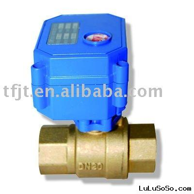 TF CWX-15Q mini electric valve for water treatment,HAVC,automatic control