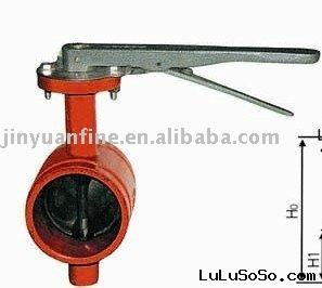 Trench Type Butterfly Valve