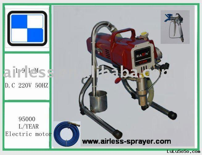 airless paint sprayer, plunger paint machine