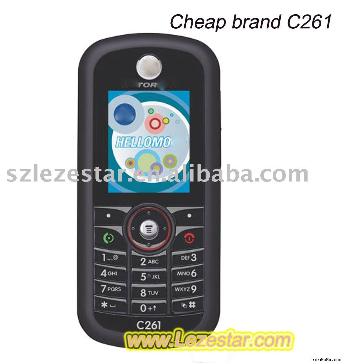 cheap cell phone M C261 under US$15