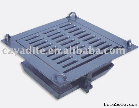 ductile  iron drain valve  cover  water  box