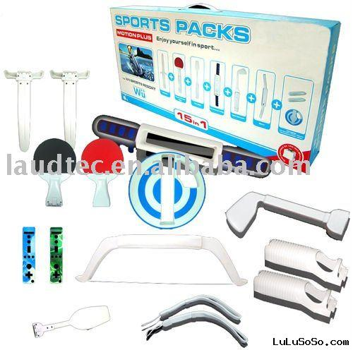 15 in 1 Sport Resort Pack for Wii Motion Plus
