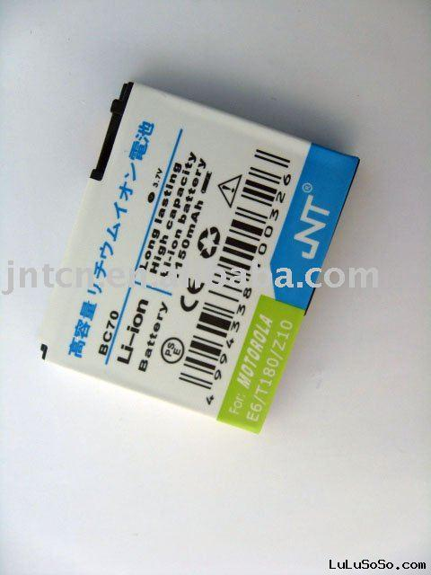 Cell phone Battery BN80 for MOTOROLA MT720