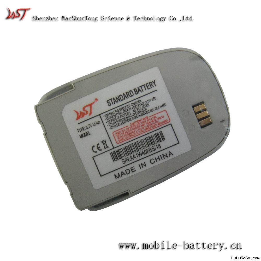 Cellular phone battery for samsung e330
