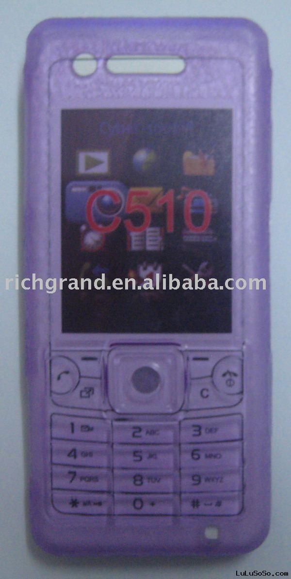 Mobile Phone Silicon Case for Sonyericsson C501