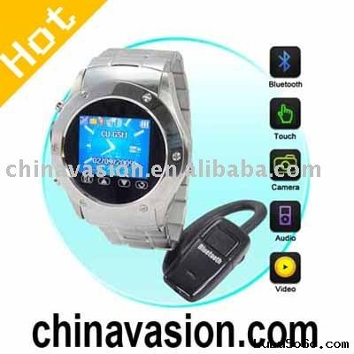 Mobile Phone, Watch Mobile Phone with Video Camera