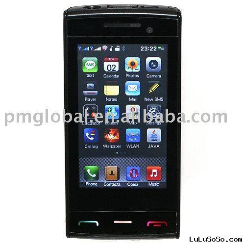 Mobile Phone ( X6, dual SIM dual standby, Support WAP GPRS Download, with WIFI, Java, Analog TV )
