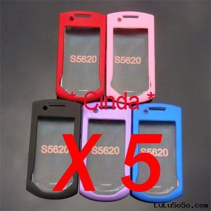 Newest Rubber Hard Case Cover for Samsung Monte S5620
