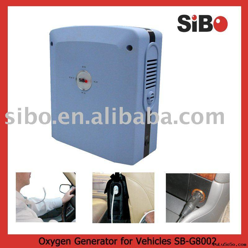 O2 oxygen machine for cars