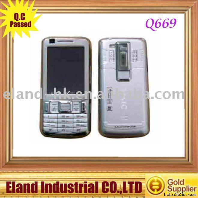 Q669 TV  free shipping mobile phone
