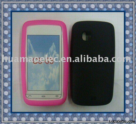 Silicon mobile phone case for C5-03/Hot Sale Silicone Cell Phone Cases