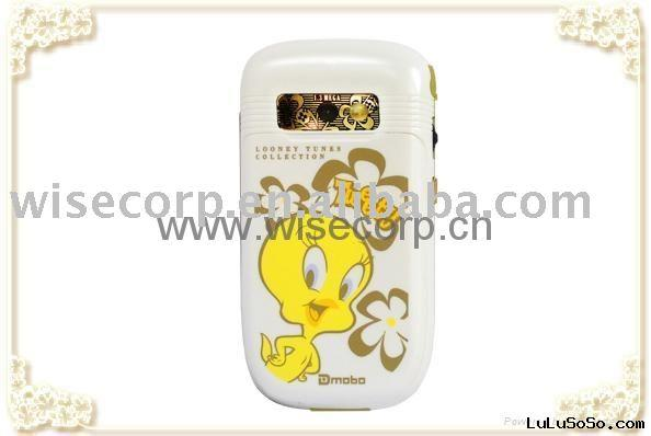 Tweety mobile phone, tri band, kid phone, mp4, cool mobile, bluetooth, touch