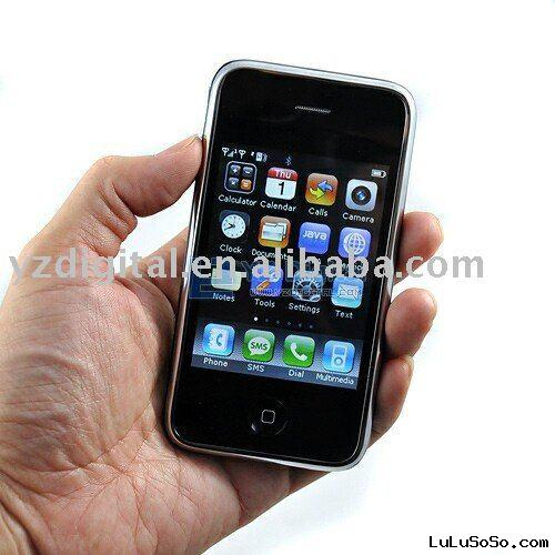 Unlocked phone i9+++ quad band with java software mobile phone