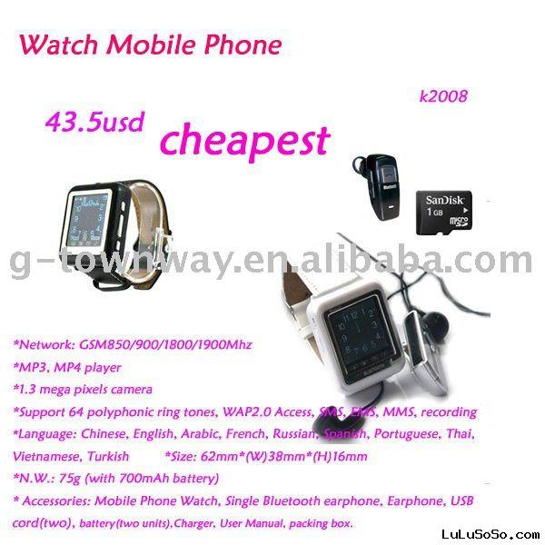 Watch Mobile Phone K2008