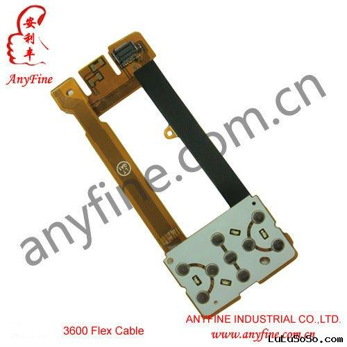 cell phone flex cable/spare parts/flex cable for Samsung 3600