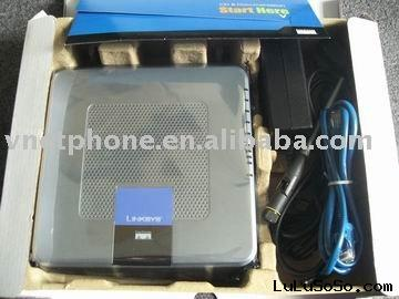 linksys wireless phone adapter with 2SIP+4LAN+WIFI