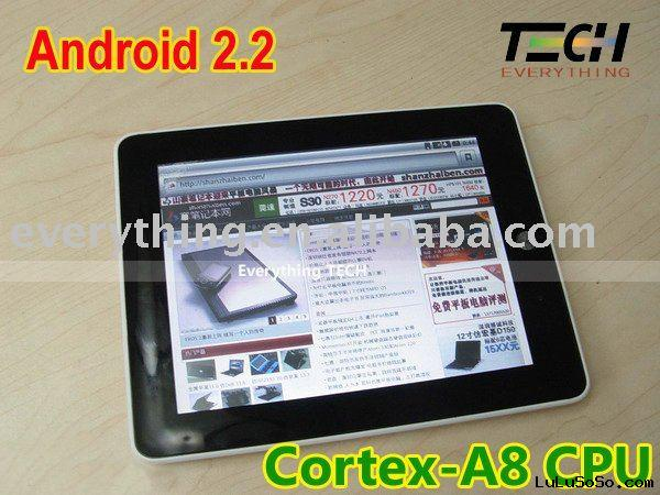 2011 newest A8 Cortex Android 2.2 Tablet PC MID 512Mb+4GB,Adobe Flash 8 support MIX515