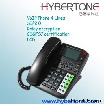 4 channel IP Phone