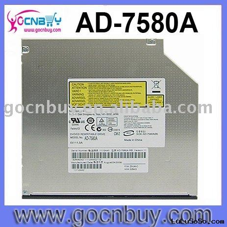 AD7580A Internal 8X Slim Laptop DVD-RW Dual Layer IDE Drive