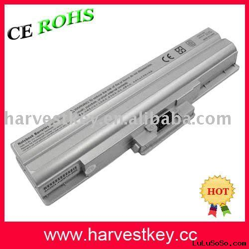 laptop battery for sony bps13 VGP-BPS13 laoptop battery VGP-BPL13 VGP-BPS13 for sony laptop  battery