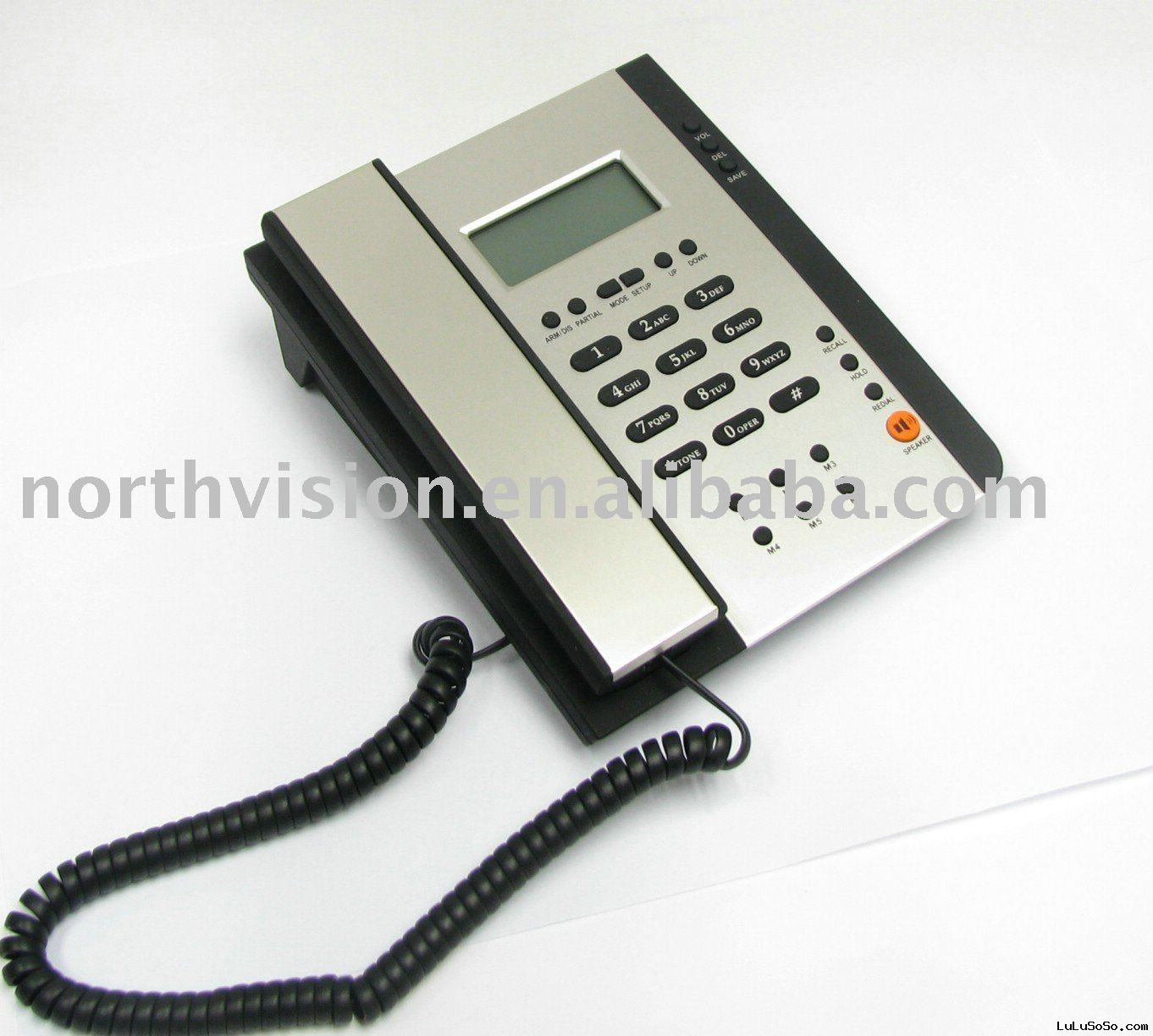 telephone alarm wireless security