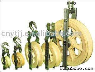 Fiber-optic cable roller
