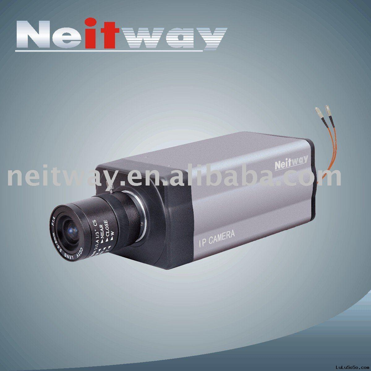 Optical fiber IP camera