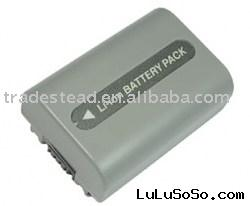 Rechargeable Battery - For Sony NP-FP50 Camcorder Rechargeable Battery, 7.2V 600mAh