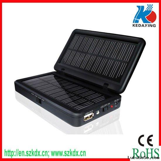 2000mAh solar battery charger