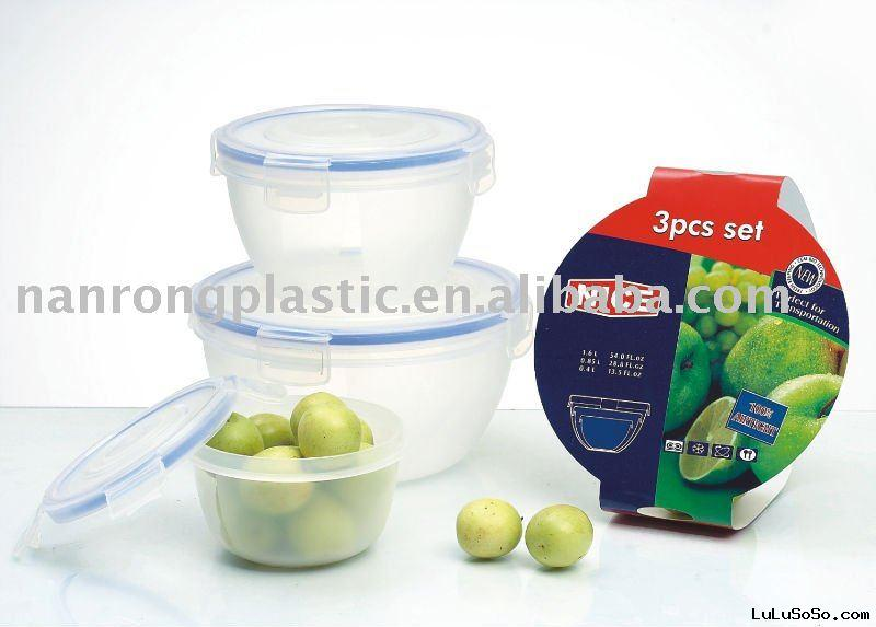 3pcs FOOD CONTAINER