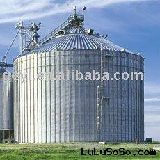 600t flat bottom silo for grain storage, grain bin, feed bin S-010