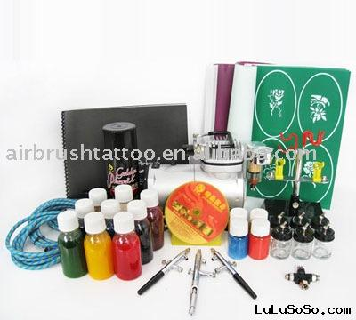 Airbrush temporary tattoo kit