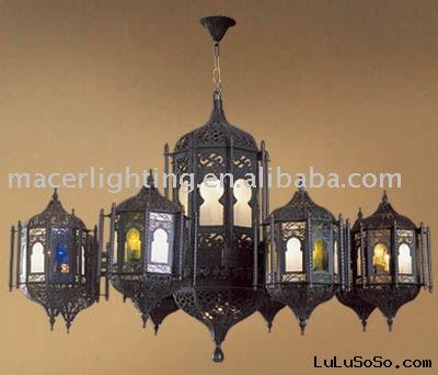 Antique Reproduction Arabian Style Deco Art Chandeliers Lighting