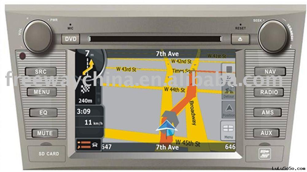 Car Audio with GPS for Camry