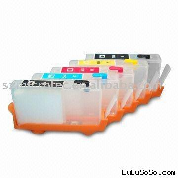 Refillable Ink Cartridge for HP 364, HP 564, HPC6384 and HP D5460