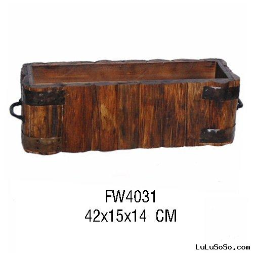 Storage wooden box&bin