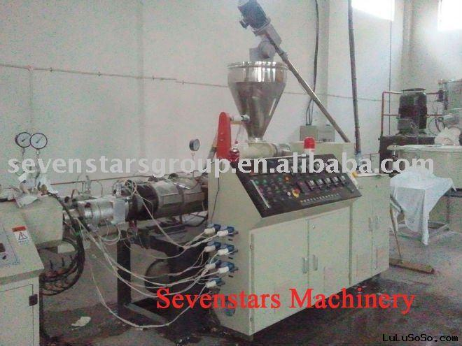 UPVC water electrical pipe extruding machine
