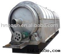 Waste plastic refinery equipment